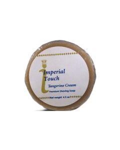 Tangerine Cream Premium Natural Shaving Soap