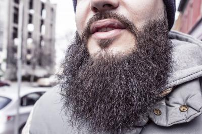How dirty is your beard
